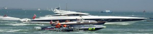 Solent Marine Events Sunseeker Yacht Charter on The Solent