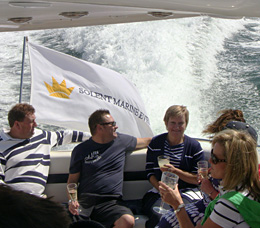 Mothers Day on a Sunseeker Luxury Motor Yacht Charters