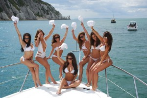 Sunseeker Private Yacht Hire Birthday Parties