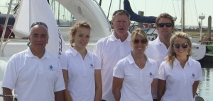 Some of the Solent Marine Events Team