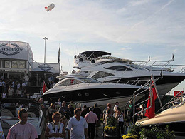 Southampton Boat Show sunseeker yacht charter solent marine events