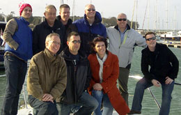 Team Building Incentive Day on a Luxury Sunseeker Motor Yacht