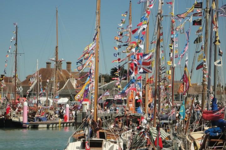 Yarmouth Gaffers Festival Sunseeker Charter