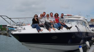 Dave's 50th Birthday on a Sunseeker