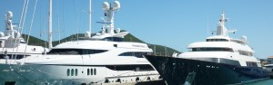 Charter a sunseeker yacht UK solent marine events