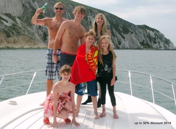 Summer holiday Destinations UK Sunseeker Yacht Charters Southampton