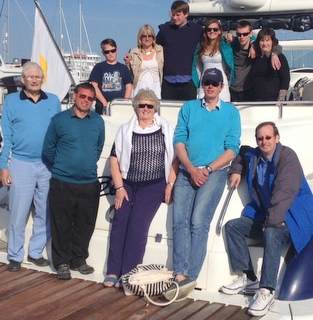 Birthday Party on a Sunseeker 2018