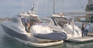 Cowes Week 2014 Motor Yacht Charter
