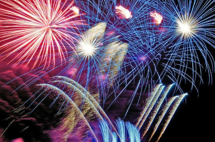 Cowes Week Fireworks Night