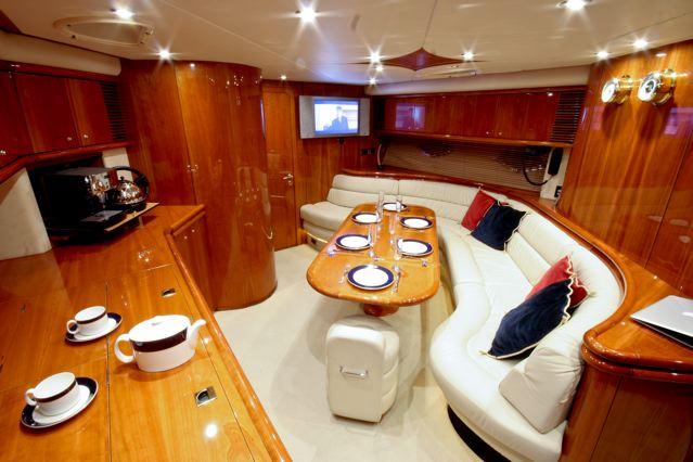 sunseeker yacht hire UK solent marine events