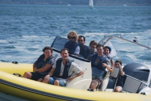 corporate team building corporate marine events in The Solent UK