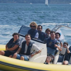 corporate team building corporate marine events in The Solent UK