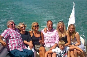 Staycation UK 50th Birthday Sunseeker Yacht Hire Solent Marine Events