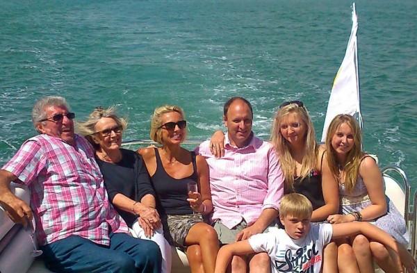 holiday luxury motor yacht UK