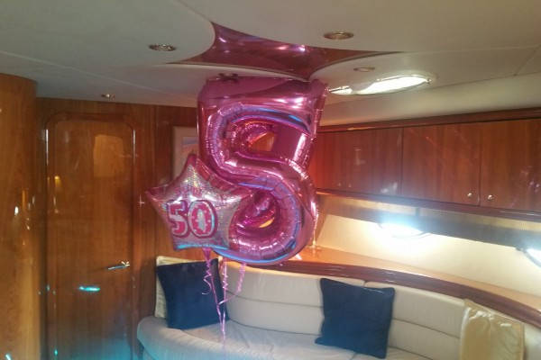 Birthday Party Yacht Charter