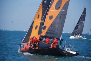 sailing event solent