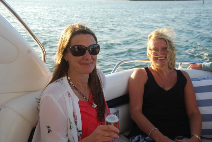 Birthday Party Sunseeker Boat