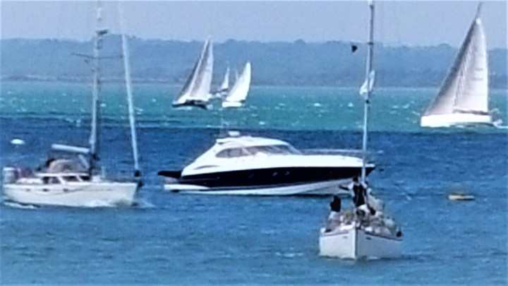 sunseeker motor yacht cowes week solent marine events