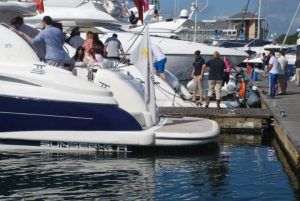 cowes week 2018 sunseeker charter solent marine events