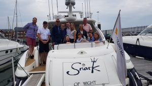 50th birthday party on a sunseeker predator