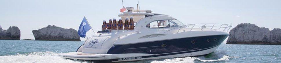 Sunseeker Yacht Charter Southampton