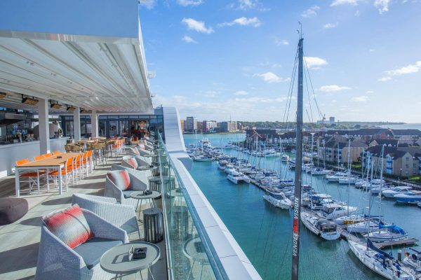 sunseeker charters from the harbour hotel southampton