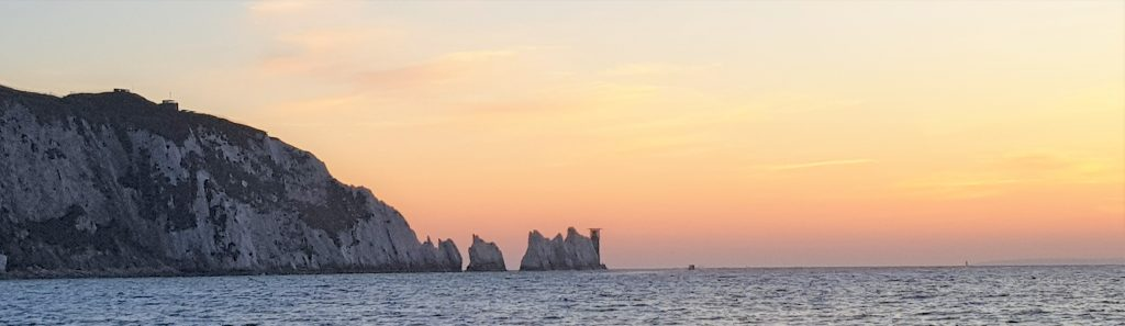 Sunseeker sunset cruise The Needles Sunset on a Sunseeker Yacht