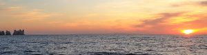 Sunseeker Sunset Cruise from Southampton to The Needles Solent marine Events