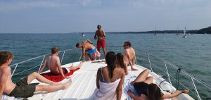 staycation sunseeker hire family and friends solent marine events