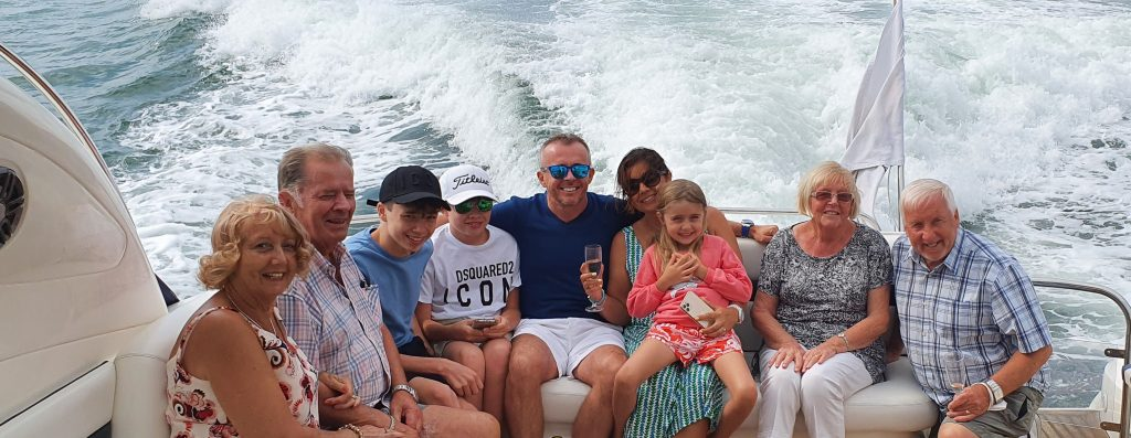 Staycation Family Holiday Southampton Sunseeker Yacht Hire Solent Marine Events