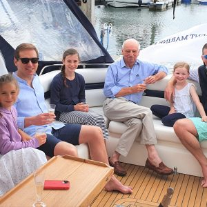 Staycation Family Holiday Lymington Hampshire Sunseeker Yacht Hire Solent Marine Events