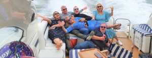 50th birthday Party Sunseeker Hire The Hut Solent Marine Events