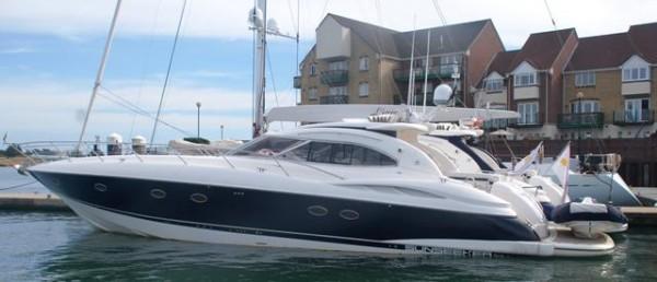 Sunseeker yacht charter southampton solent marine events