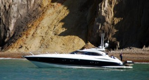 birthday party on a sunseeker yacht