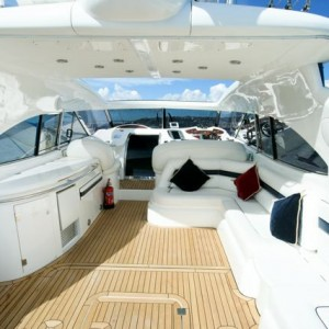Staycation family and friends sunseeker yacht charter solent marine events