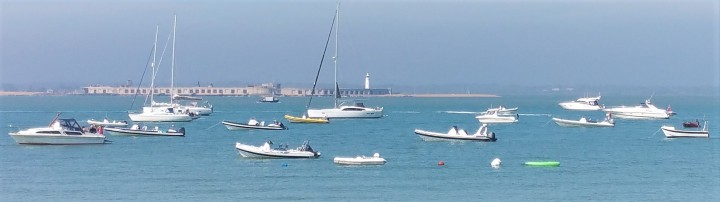 Swimming Solent Luxury Yacht Charter