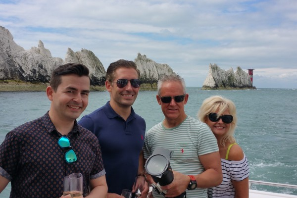 sunseeker yacht charter isle of wight solent marine events