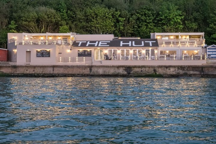 Lymington to The Hut Sunseeker Charter Solent Marine Events