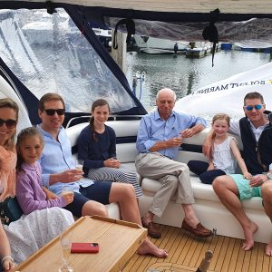 staycation luxury motor yacht charter solent marine events