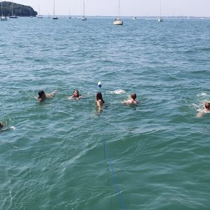 staycation osborne bay UK sunseeker charter solent marine events