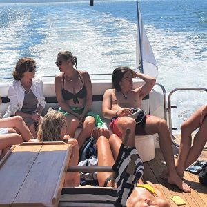 Staycation Family Holiday Cowes Isle of Wight Sunseeker Yacht Hire Solent Marine Events