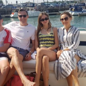 staycation uk 2020 sunseeker hire solent marine events